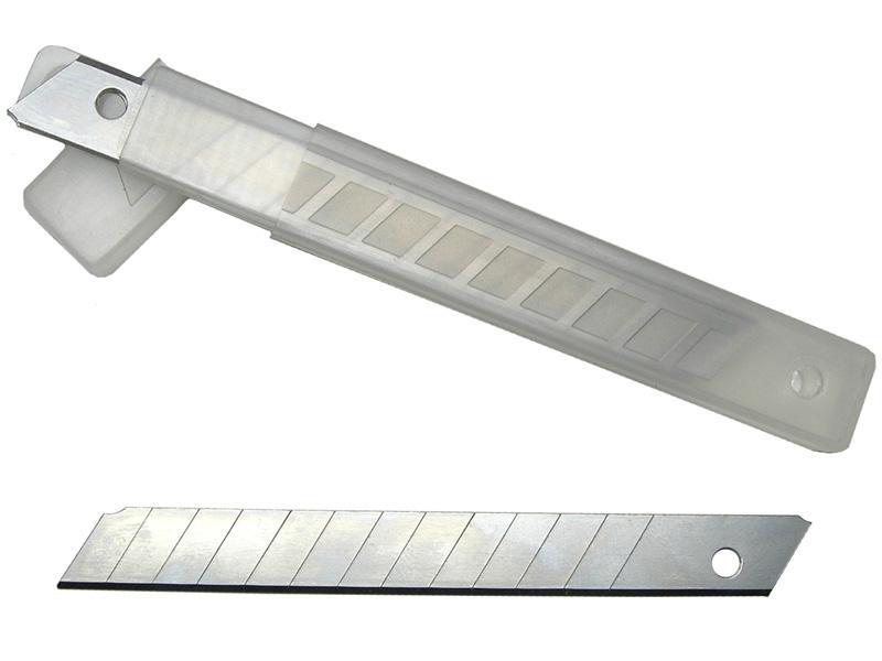 Лезвия DECOR сегментированные, 9 мм (упак.10шт)