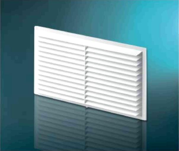 Решетка вентиляционная DOSPEL 007-0176 D210 RW накладная разъемная 208