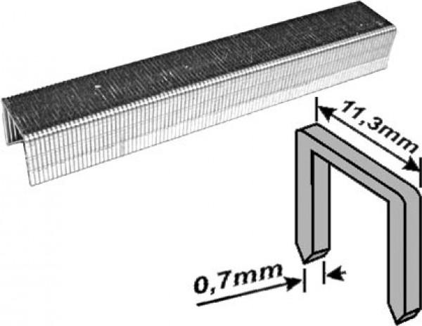 Скобы FIT закаленные усиленные (тип 53), 10мм, 1000шт