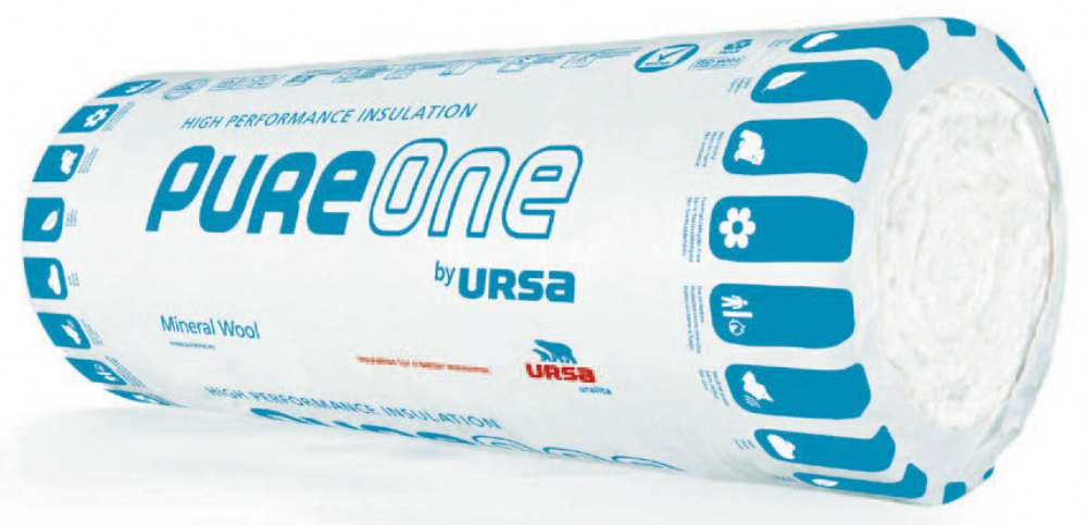 ћаты теплоизол¤ционные URSA PureOne 37 RN 2х6250х1200х50 мм