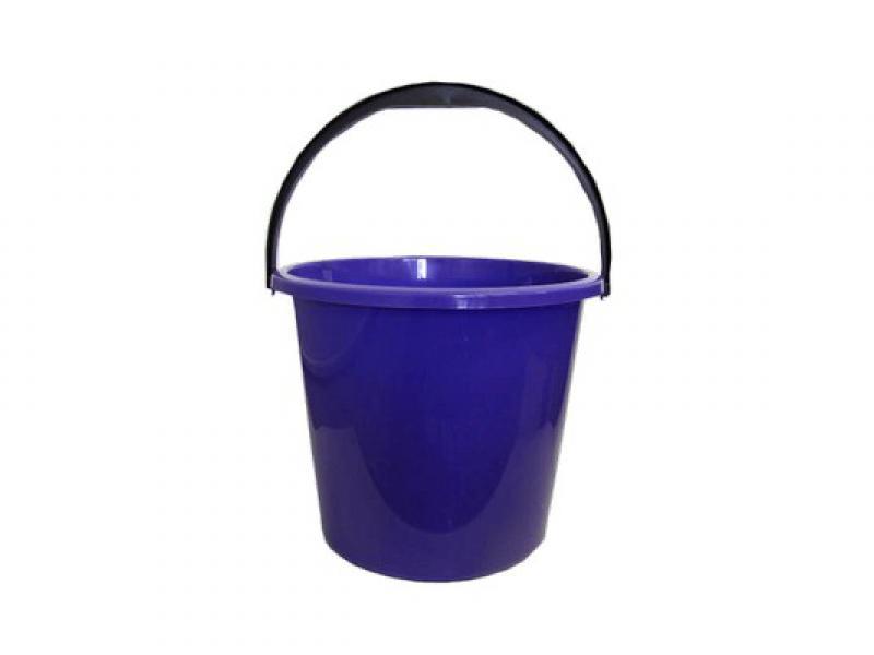 Ведро пластиковое 12л цветное ВС без крышки