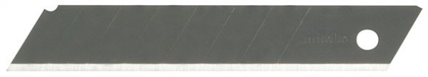 Лезвия FIT сегментированные черненые криогенная закалка, 18 мм (10 шт.