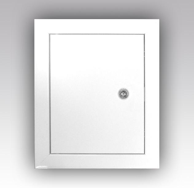 Люк-дверца ревизионная Viento металлическая с замком 300х400мм