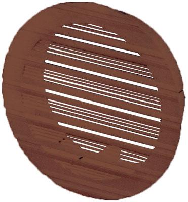 Решетка вентиляционная DOSPEL BELLA 100B приточно-вытяжная, круглая 13