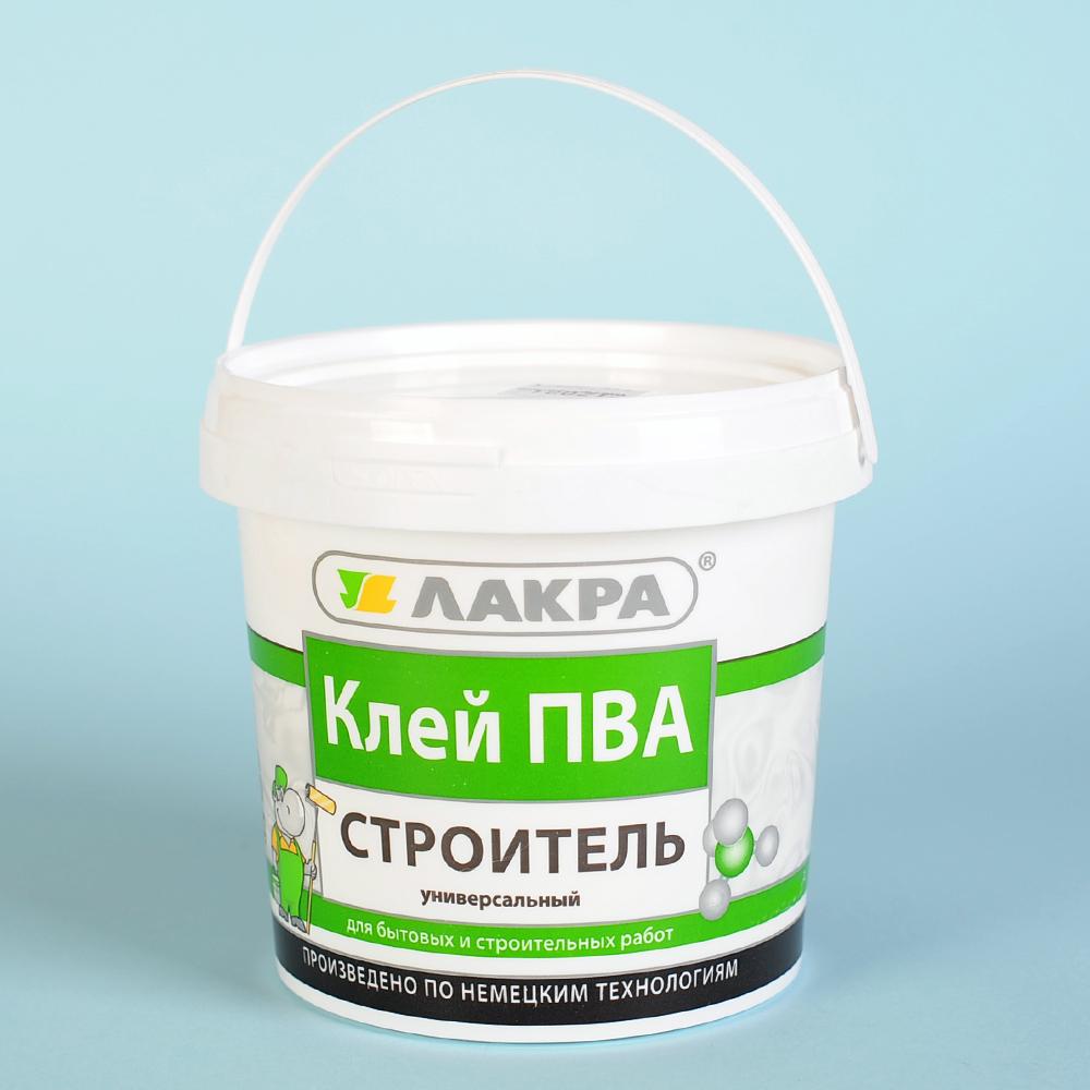 Клей ПВА Лакра Строитель универсальный 2,3 кг