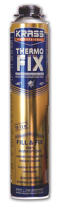 Клей-пена KRASS Professional THERMO FIX, для теплоизоляционных работ 0