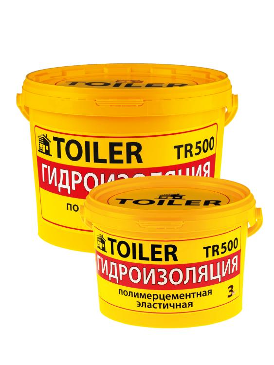 Гидроизоляция TOILER TR500  полимерцементная эластичная 10 кг