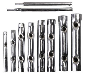 Набор ключей трубчатых STAYER хромированных 6-22мм 10 предметов