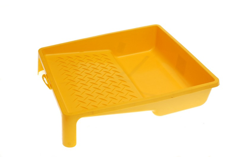 Ванночка для краски DECOR 270х290мм желтая