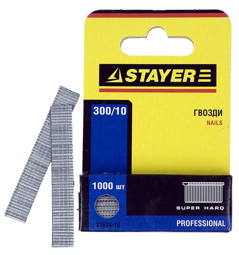 Гвозди для степлера STAYER
