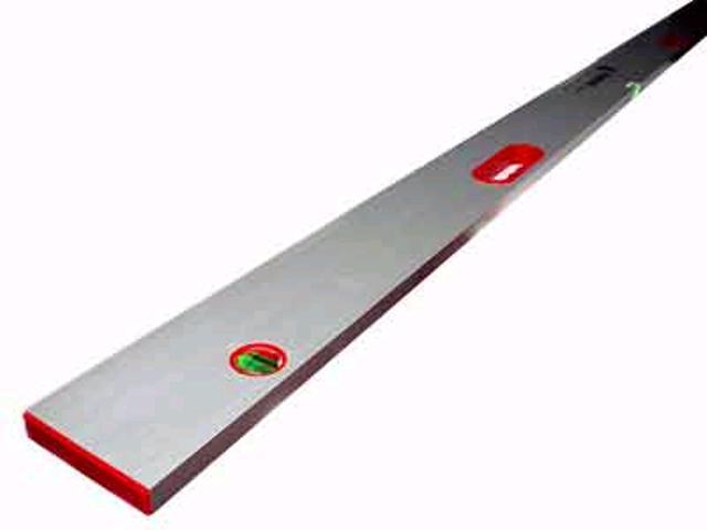 Правило-уровень DECOR, 2 глазка, 2 ручки 2500 мм