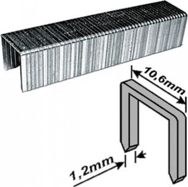 Скобы FIT Профи закаленные (тип 140), прямоуг. 10мм, 500шт