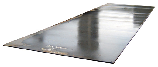 Лист стальной горячекатанный 1,25х2,5м, 2мм