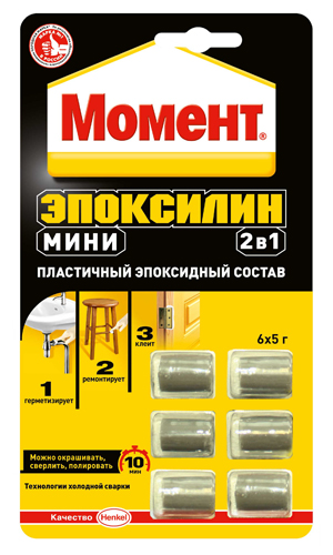 Клей Момент Эпоксилин мини 2в1 30г