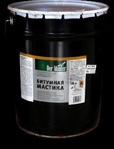 Мастика битумная ДерМастер 18 кг