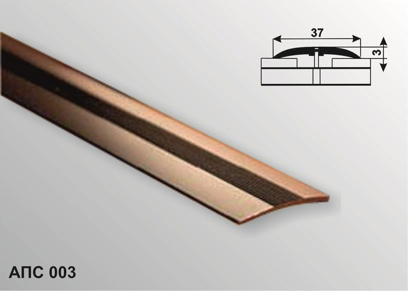 Профиль декоративный АПС 003 1800-24