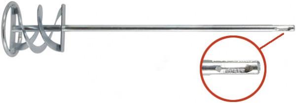 Миксер FIT оцинкованный Профи, хвостовик SDS-PLUS, 100х600мм