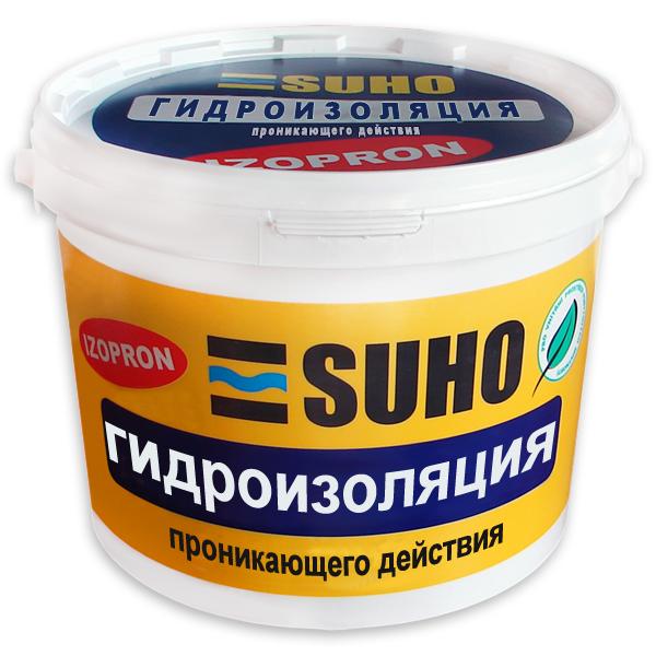 Гидроизоляционная смесь IZOPRON 4кг