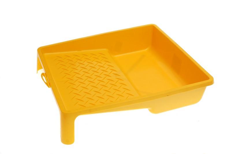 Ванночка для краски DECOR 330х350мм желтая