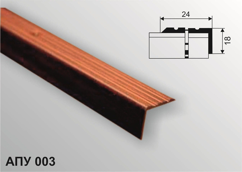 Профиль декоративный АПУ 003 1800-17