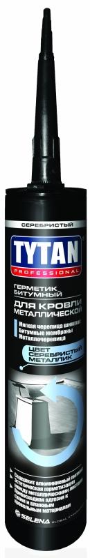 Герметик Битумный Tytan Professional для металлической кровли, Серебри