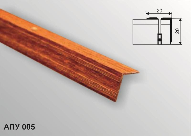 Профиль декоративный АПУ 005 1800-01