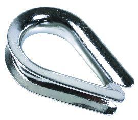 Коуш для стальных канатов DIN 6899 5мм