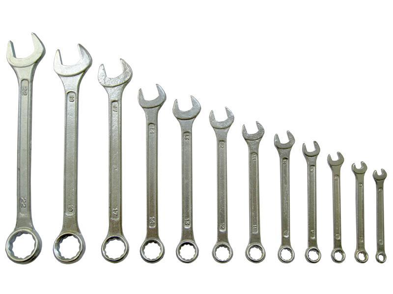 Набор ключей комбинированных U.S.Pex, 6-22 мм, 12 шт