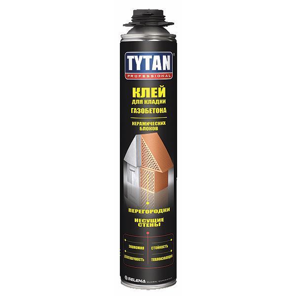 Клей Tytan Professional для кладки газобетона и керамических блоков 75