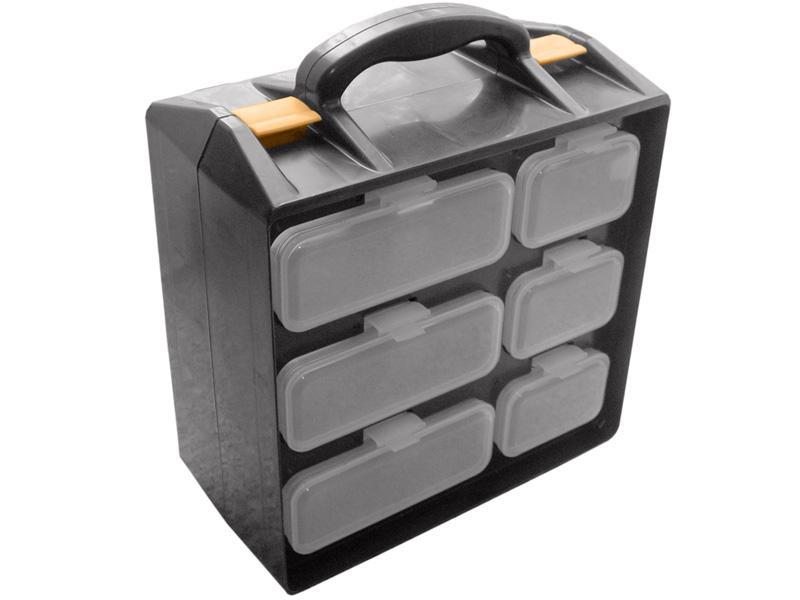 Ящик для крепежа U.S.Pex двухсекционный 28х33.5х14.5 см