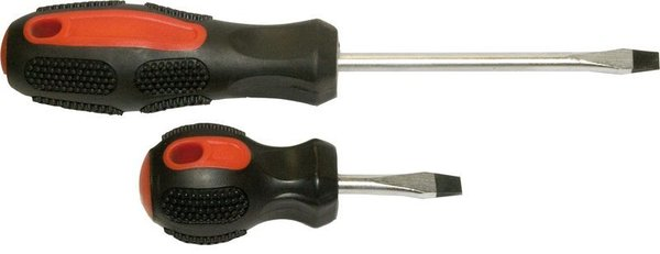 Отвертка 888 CrV 2х-компонентная ручка, магнит 3,2х75 мм